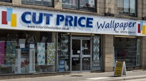 Cut Price Wallpaper Crewe shop Mill Street