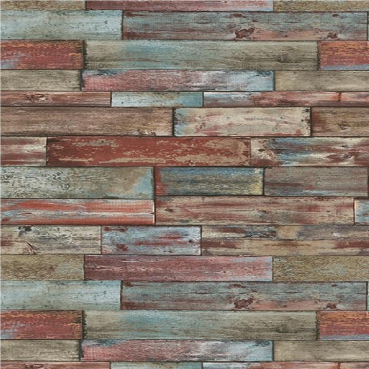 Erismann wood panel effect wallpaper 7319 06 cut price for Wooden wallpaper price