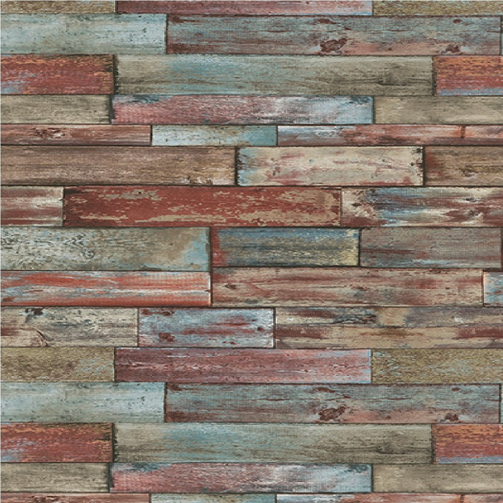 Wood Panel Effect Wallpaper 7319 06