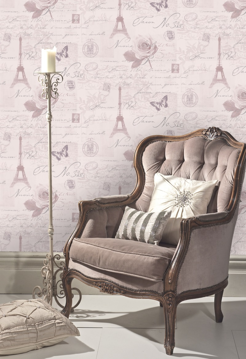Holden decor k2 calligraphy wallpaper 97751 cut price for Decor wallpaper