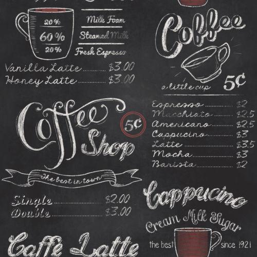 Rasch Coffee Shop Wallpaper -234602 - Cut Price Wallpaper ...