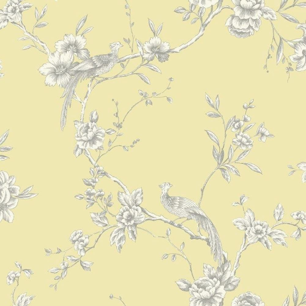 Arthouse Opera Chinoise Yellow Wallpaper 422804 Cut