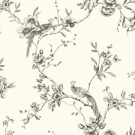 Arthouse Opera Chinoise Black Wallpaper 422801 Cut