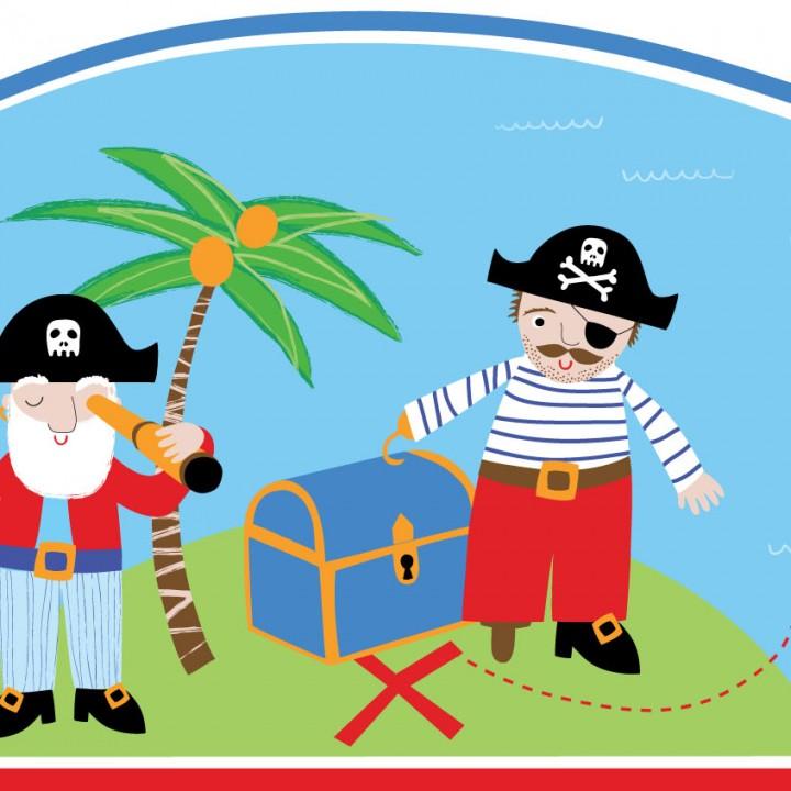 Pirate Page Border
