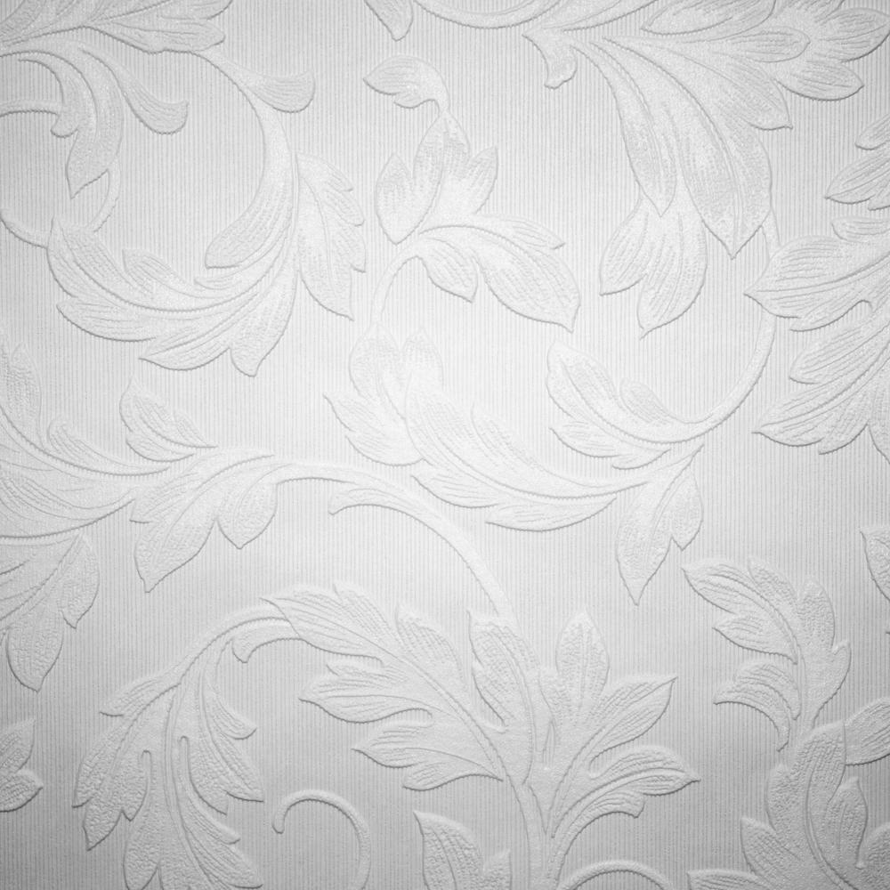 Super fresco paintable blown vinyl wallpaper 15069 for Paintable wallpaper