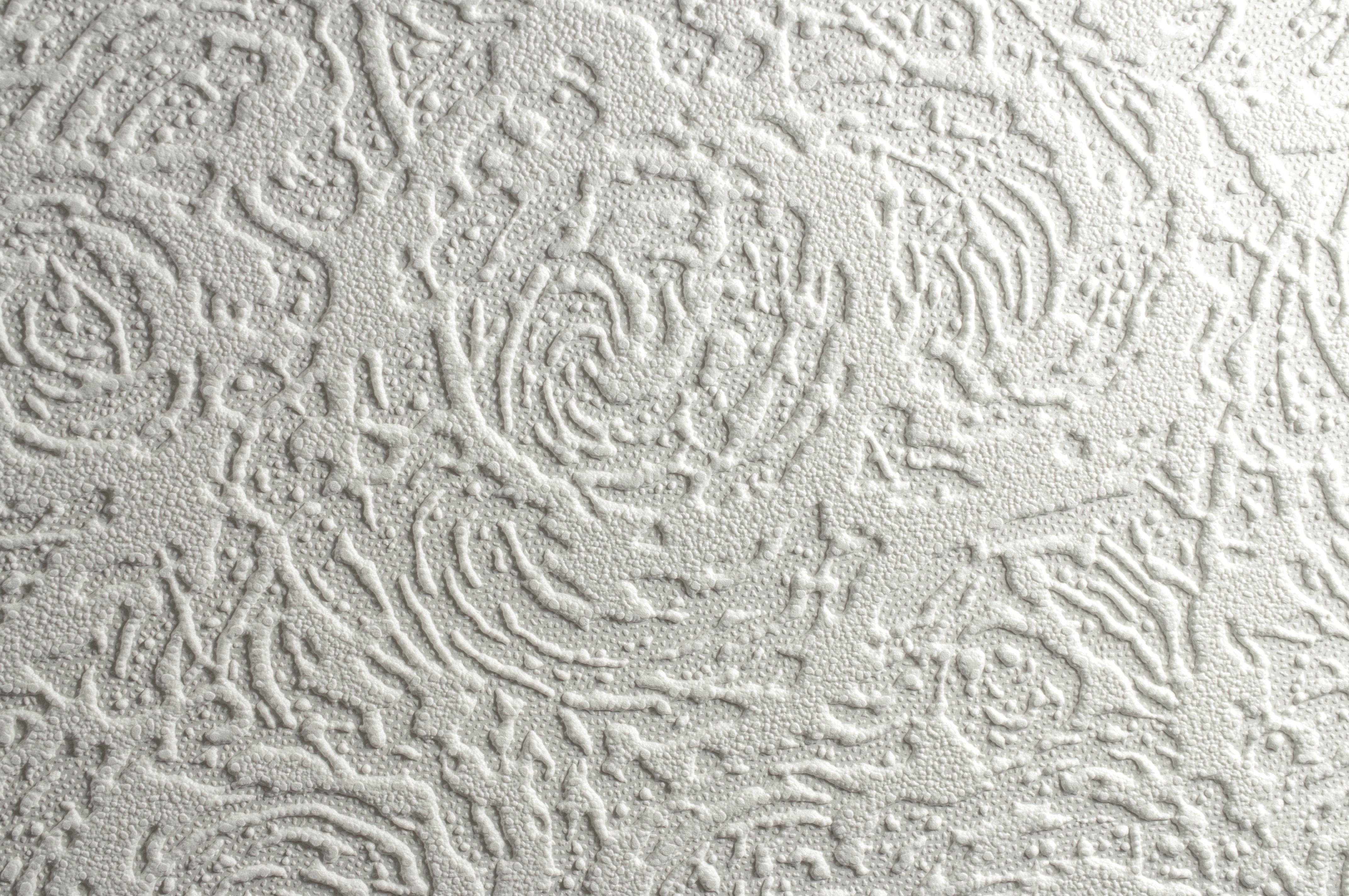 Super Fresco Paintable Blown Vinyl Wallpaper 321 Swirl