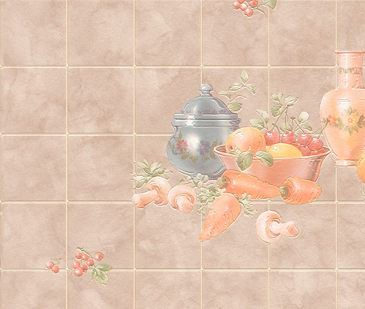 vinyl wallpaper tile effect