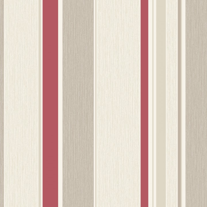 319927 Dahlia stripe red