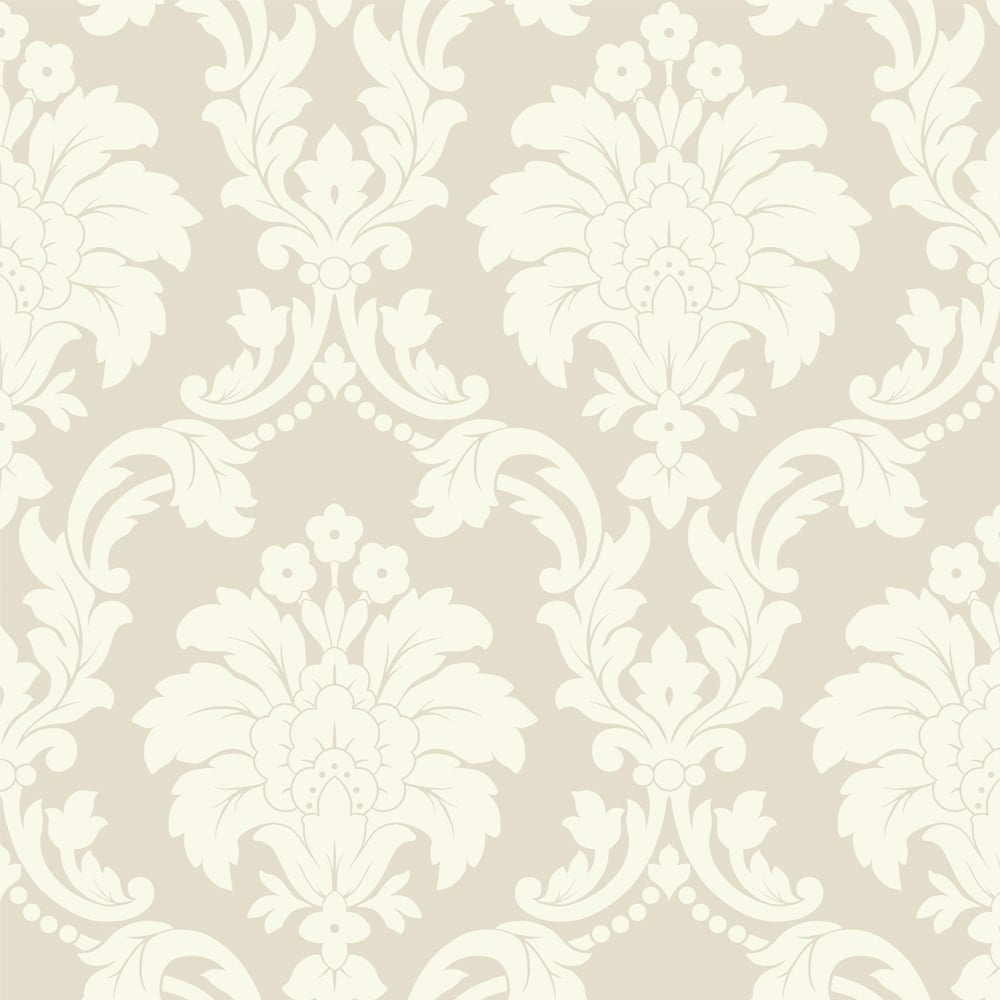 Arthouse Opera Romeo Damask Wallpaper 693502 Cream