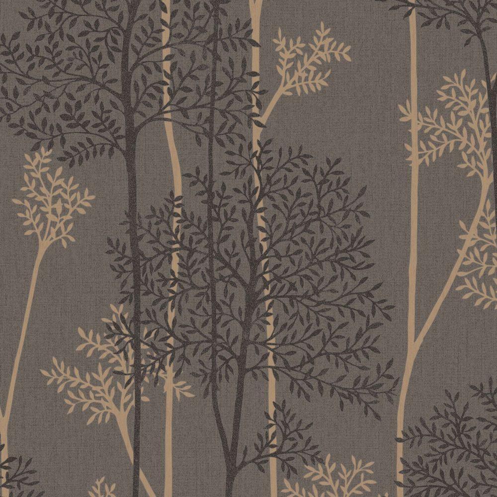 Graham And Brown Super Fresco Easy Eternal Wallpaper 33 289 Choc Bronze