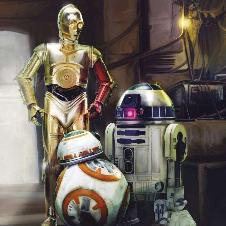 4-447 - Star Wars Three Droids