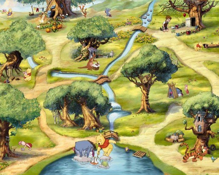 4-453 - Winnie Hundred Acre Wood