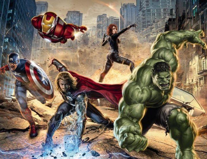 8-432 - Avengers Street Rage
