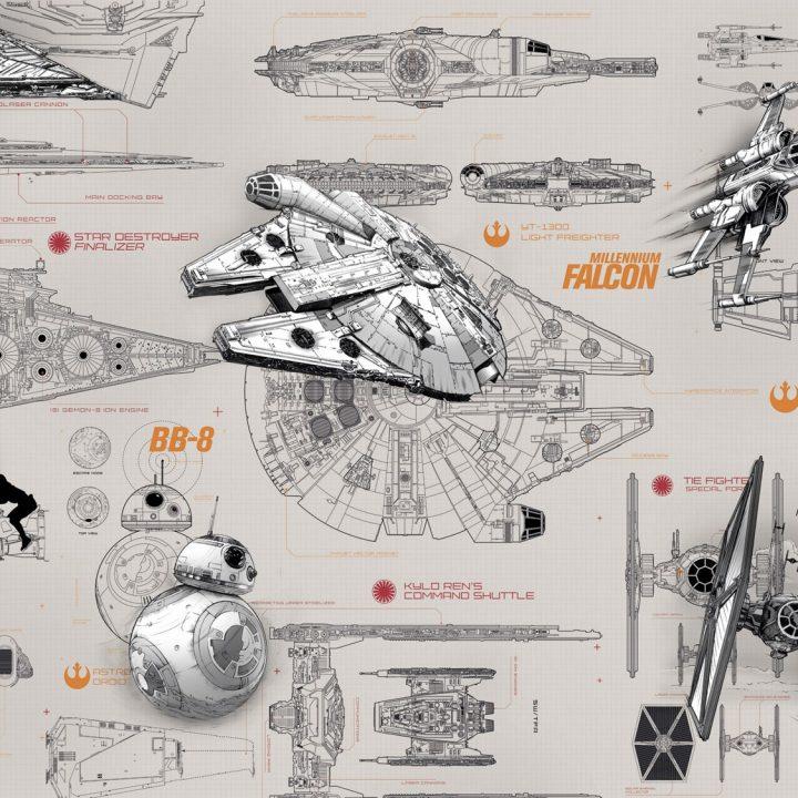 8-493 - Star Wars Blueprints