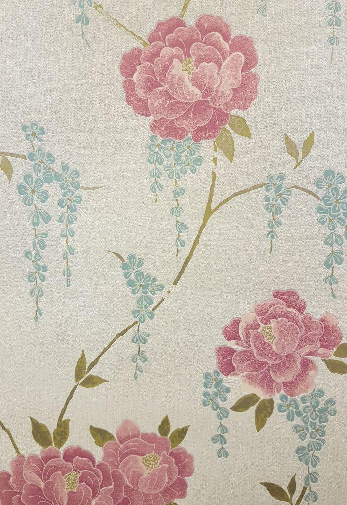 Graham Amp Brown Super Fresco Elizabeth Floral Vinyl