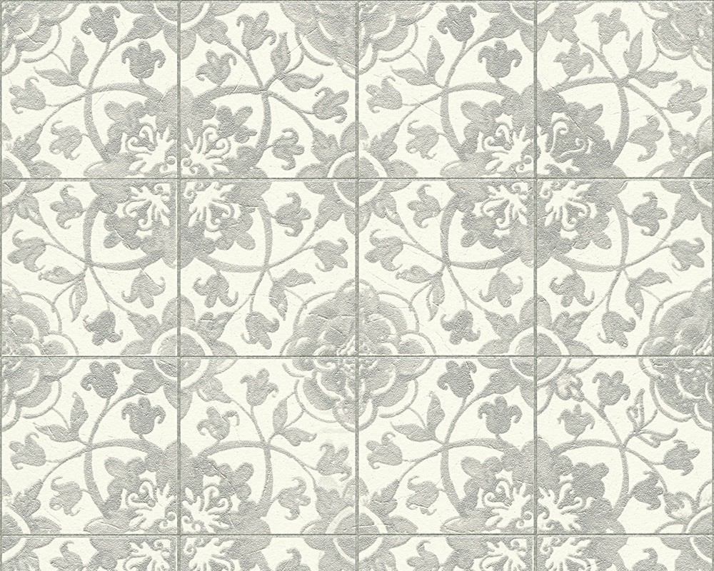 Rasch apples vinyl kitchen wallpaper 824506 cream cut price - 962473