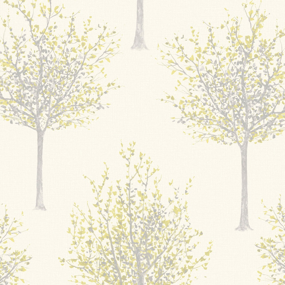 Deco4Walls Nordic Elegance Wallpaper  NG2105  Cream/Mustard  Cut Price Wallpaper Crewe