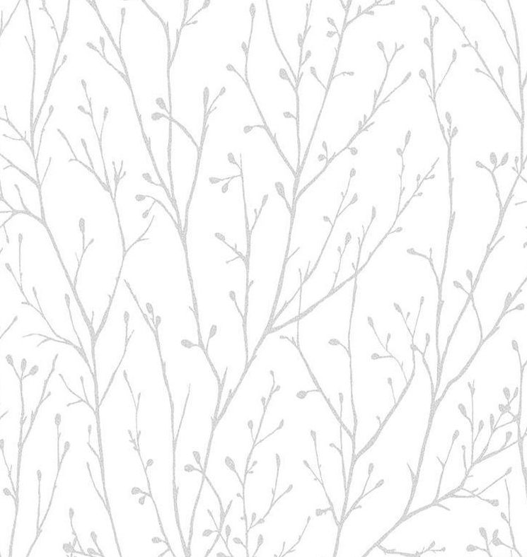 Super fresco willamena textured wallpaper 102850 silver cut