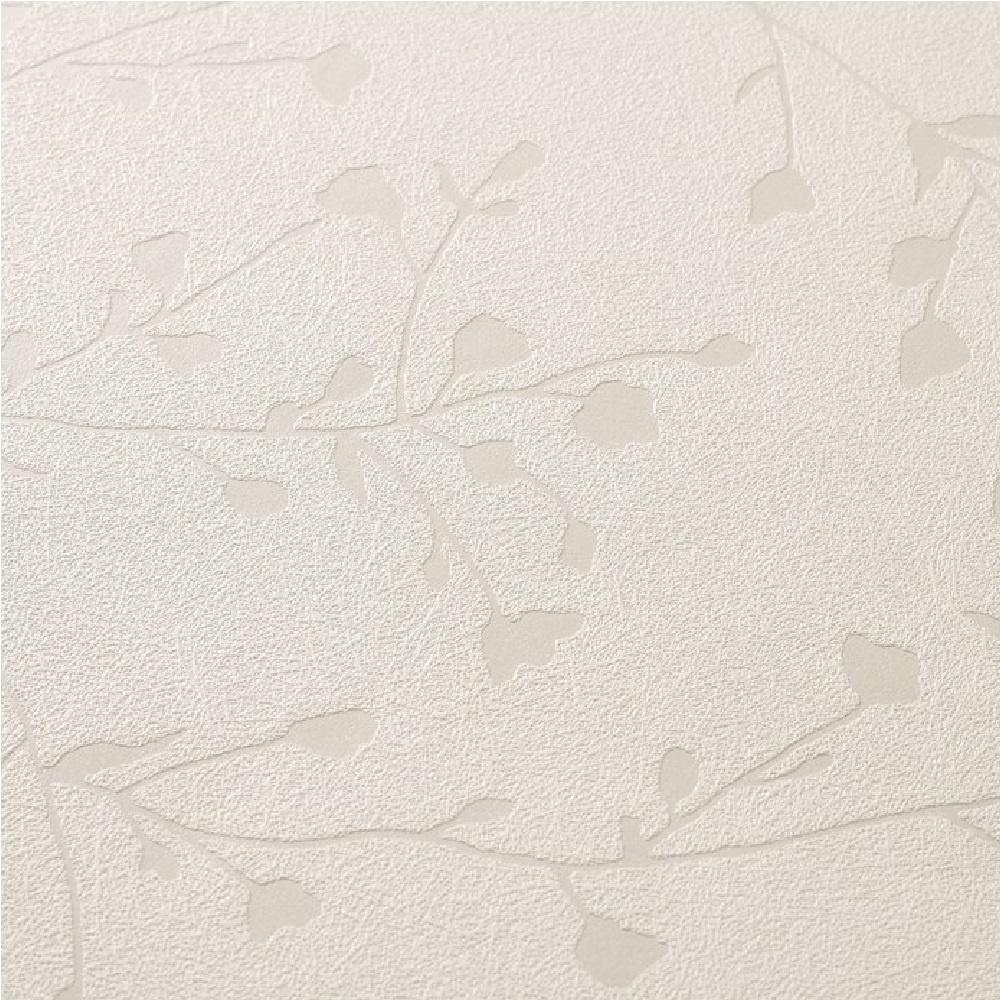 graham brown super fresco silhouette vinyl wallpaper 15314 white cut price wallpaper. Black Bedroom Furniture Sets. Home Design Ideas