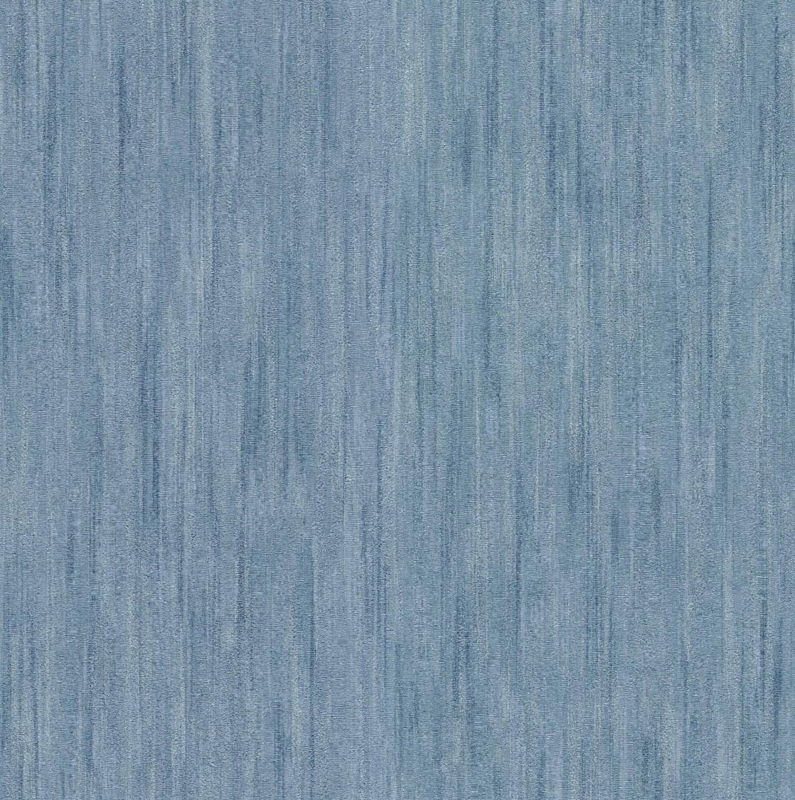 Fine Decor Milano 7 Plain Vinyl Wallpaper-M95590 -Blue