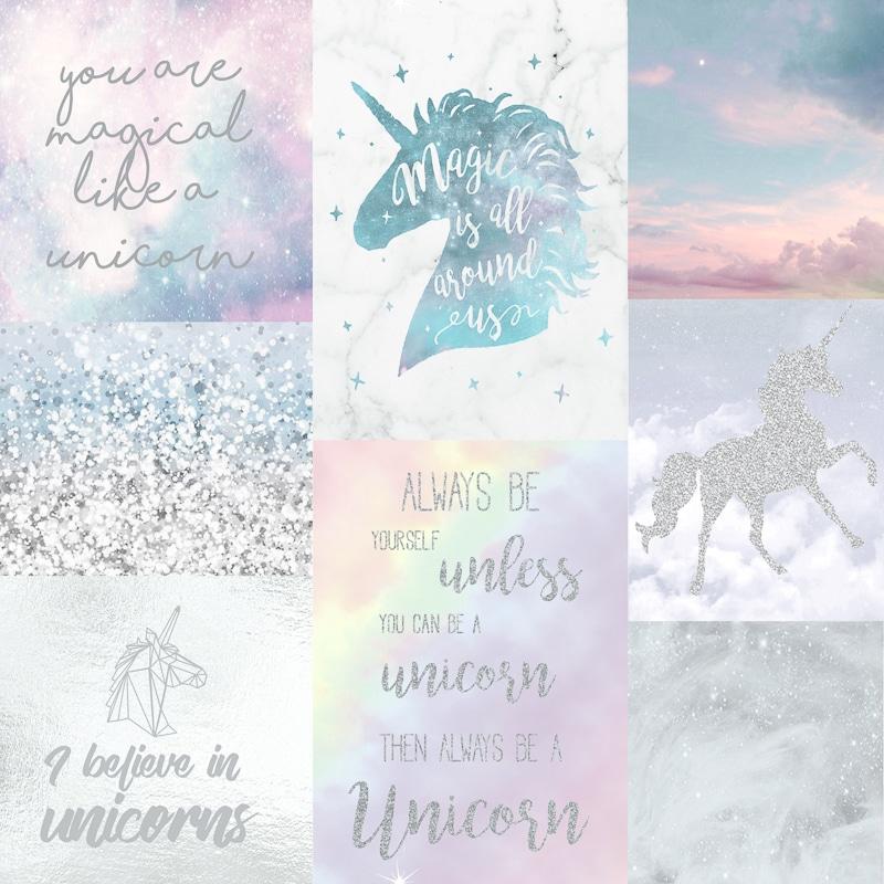 Arthouse Imagine Believe In Unicorns Wallpaper 698300 Multi