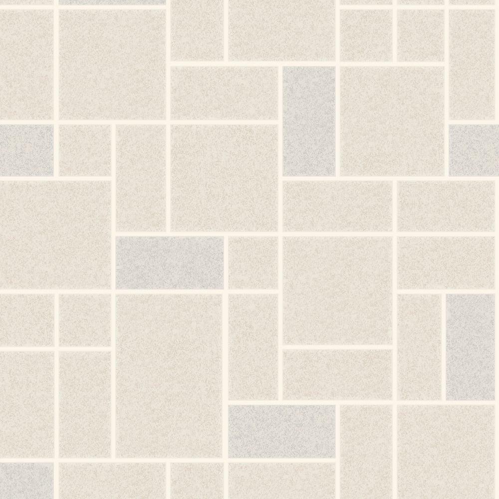 Wallpaper Tiles For Kitchen: Holden Decor Winchester Tile Wallpaper 89293 Stone
