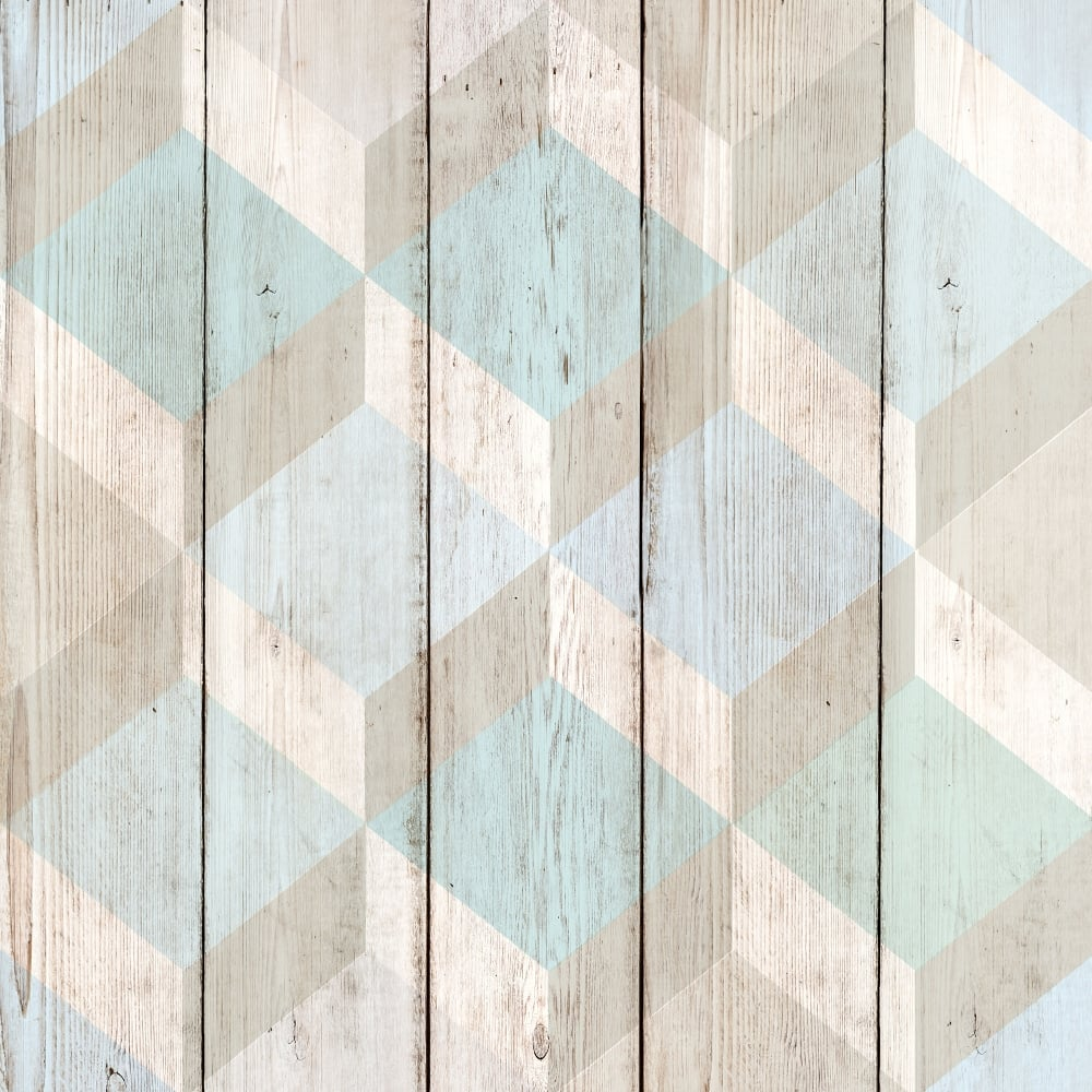 Grandeco copenhagen vinyl wallpaper 134502 blue for Wooden wallpaper price
