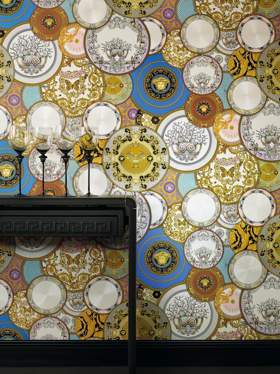 Versace Les Etoiles De La Mer Wallpaper 34901 1 Multi