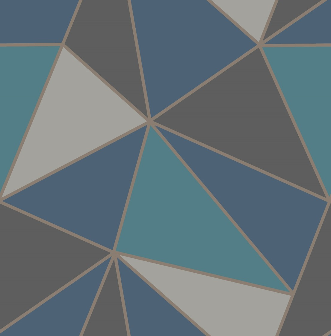 Fine Decor Apex Geometric Wallpaper-FD42001-Navy/Grey