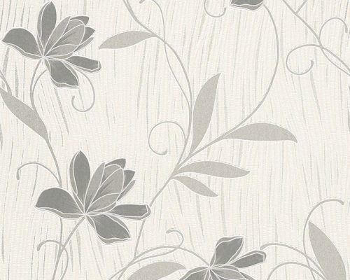 As Creation Lotus Plain Wallpaper 9495 47 Grey
