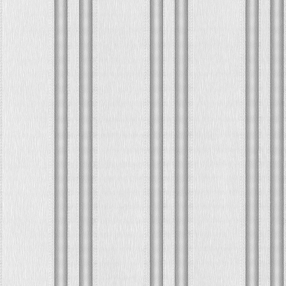 PS International Spotlight Stripe Wallpaper 02542 20 Grey