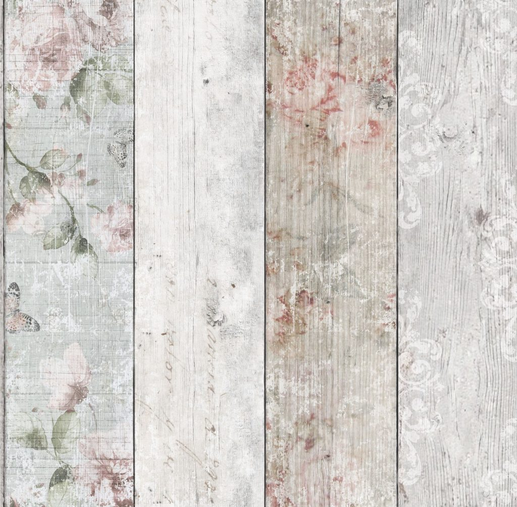 Graham Amp Brown Fresco Distressed Wood Wallpaper 51 094
