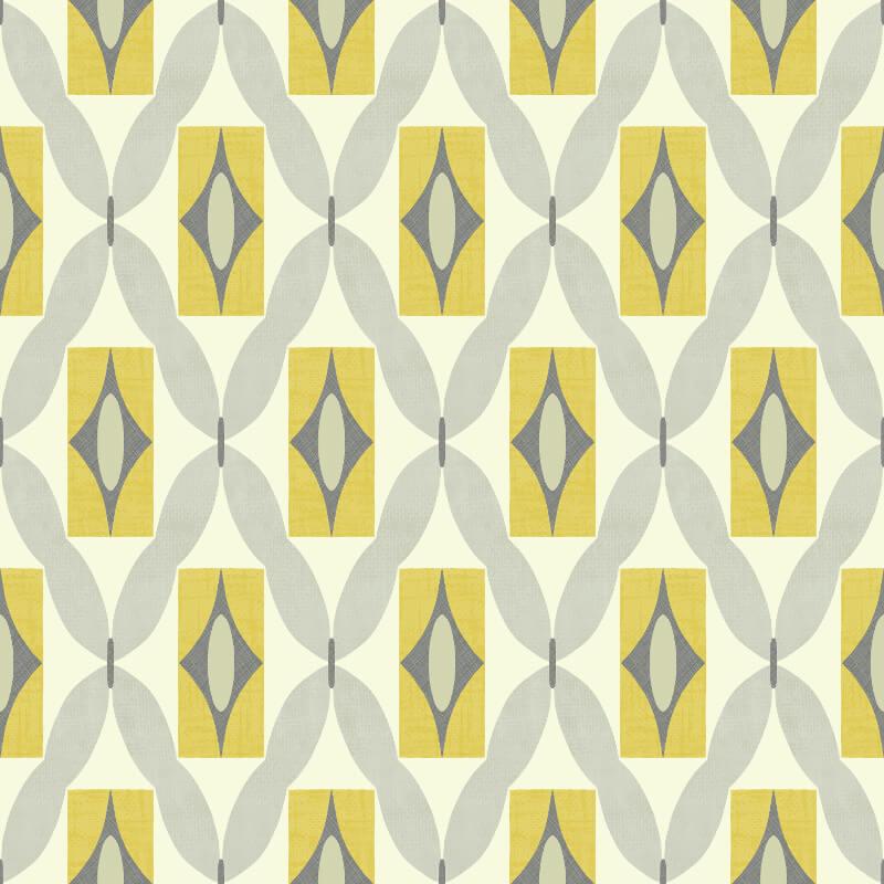 arthouse opera quartz geometric wallpaper 640703 yellow grey. Black Bedroom Furniture Sets. Home Design Ideas