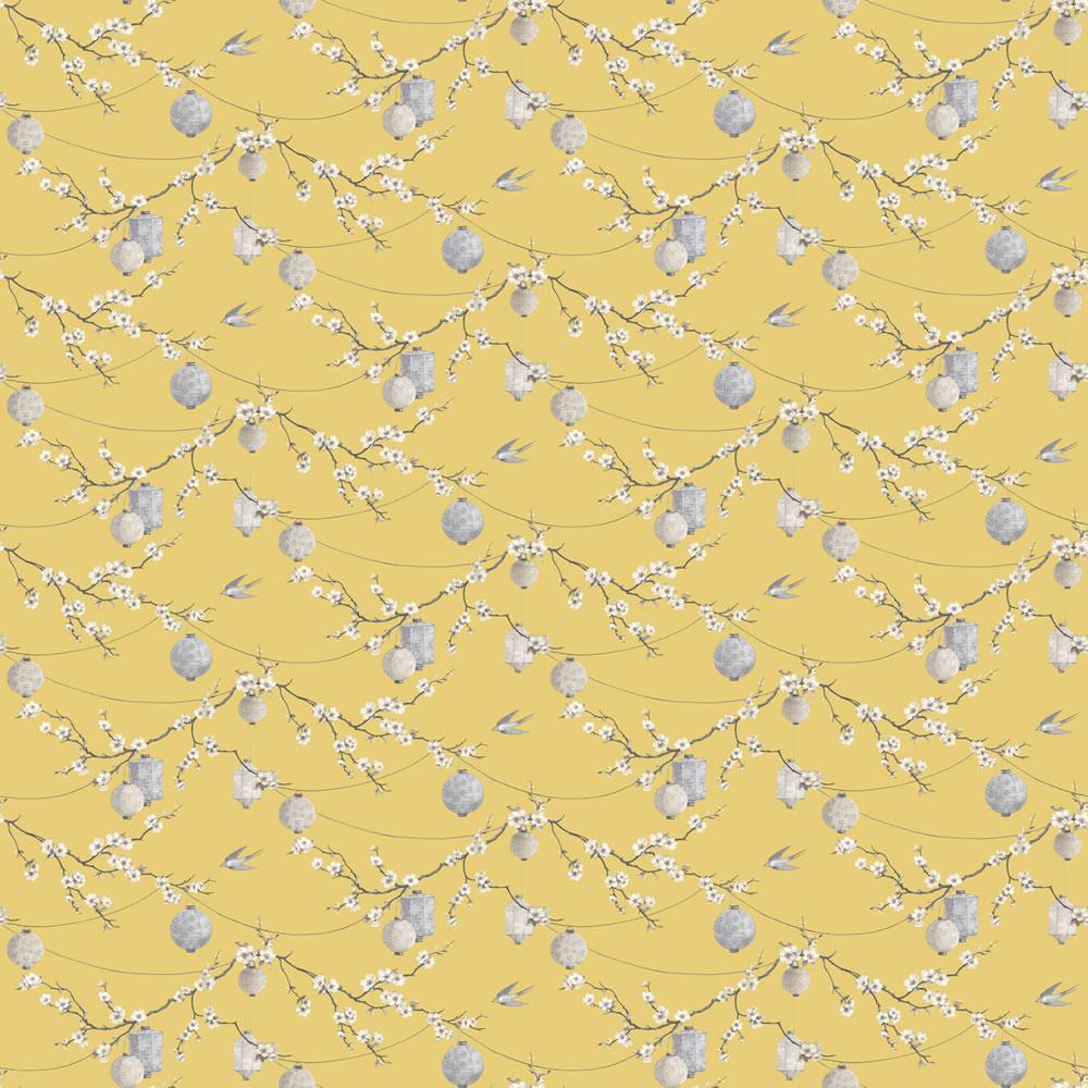 Arthouse Opera Chinese Garden Wallpaper 695401 Yellow