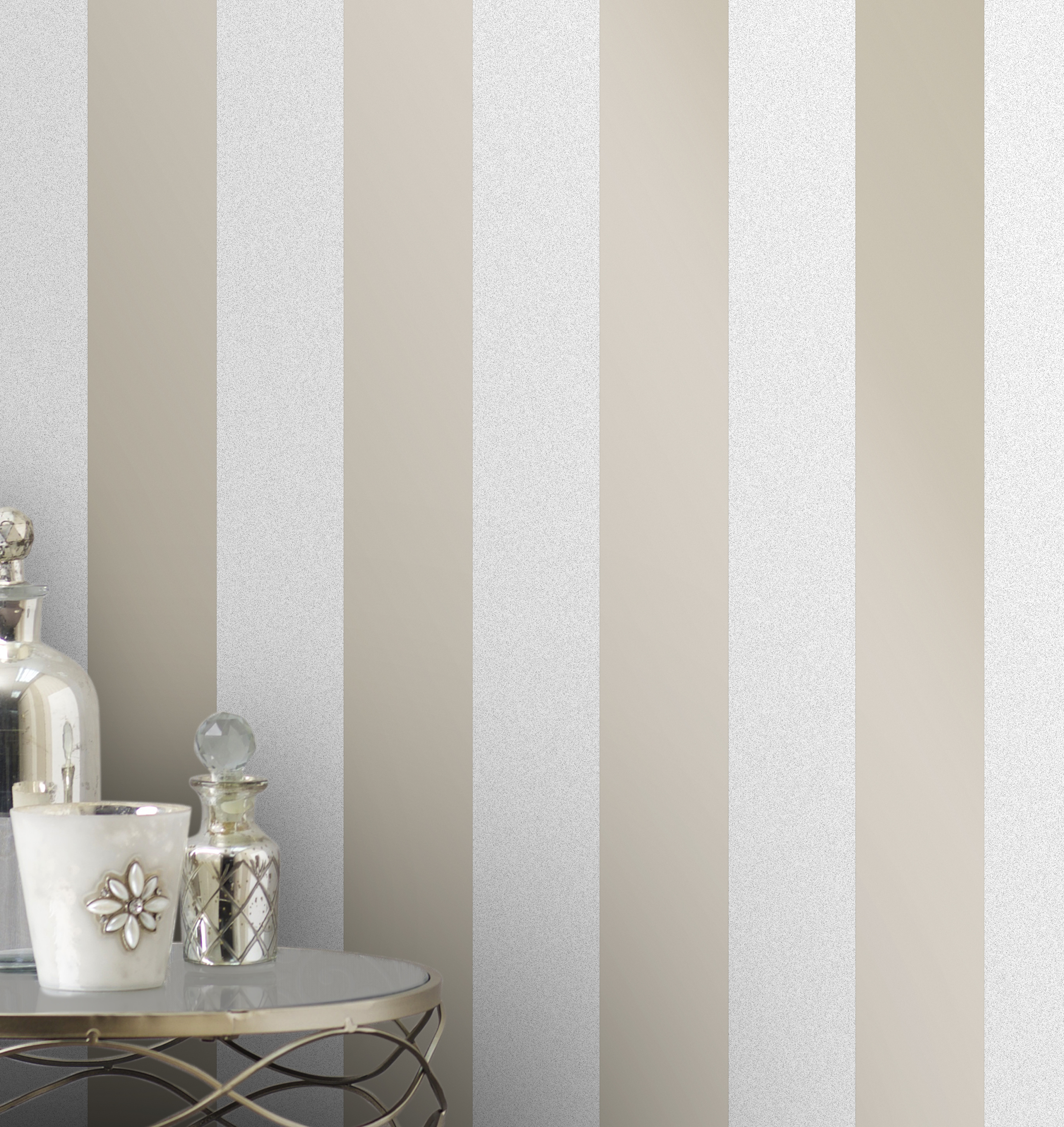 Fine Decor Monaco Stripe Wallpaper