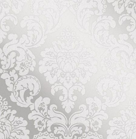 Fine Decor Monaco Damask Wallpaper FD42238 Silver Grey