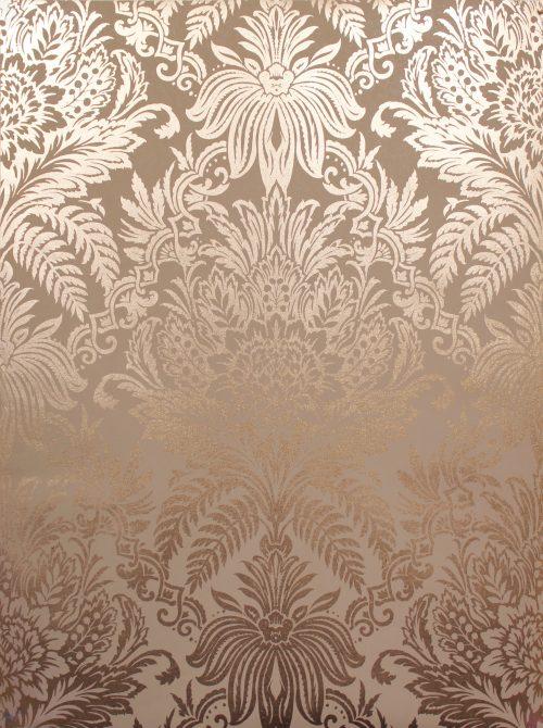 Arthouse Opera Malmo Retro Leaf Wallpaper 902301 Greyorange