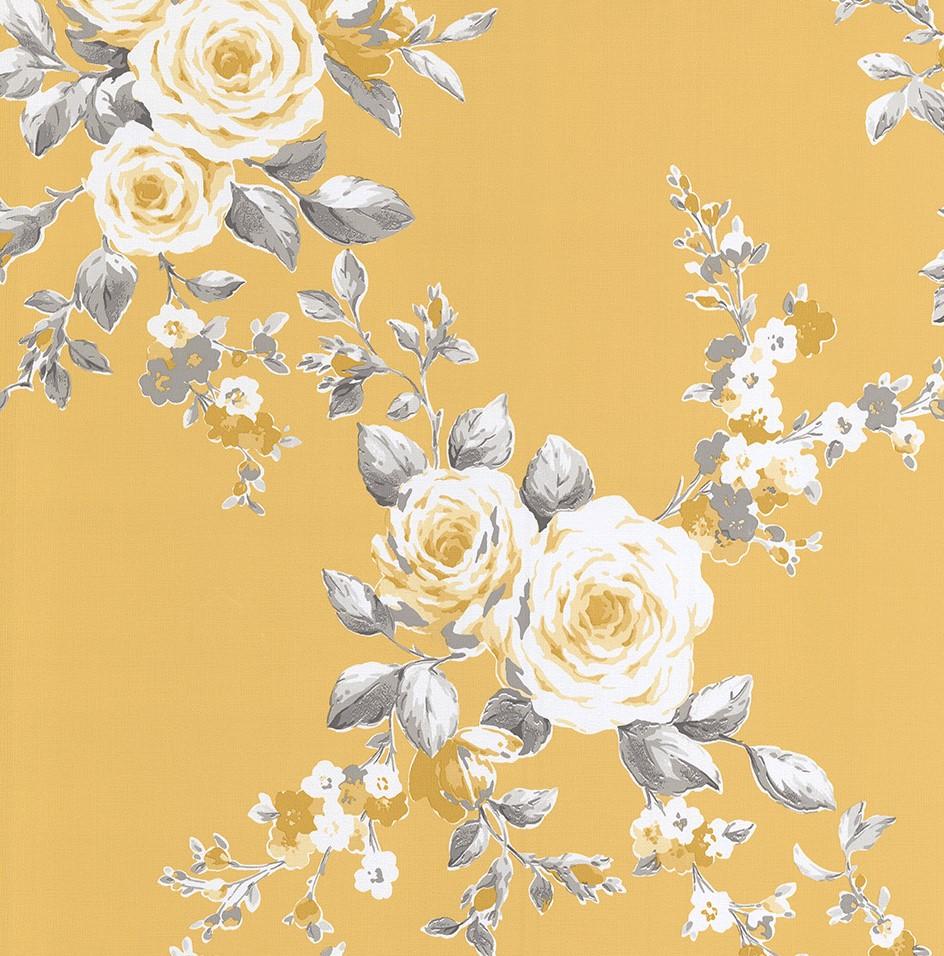 S Vintage Floral Wallpaper Vintage Wallpapers Rh