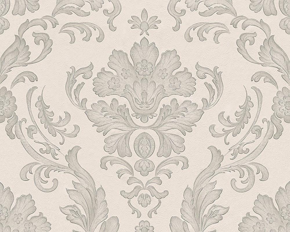 As Creation Concerto Baroque Wallpaper-30190-4 - Silver