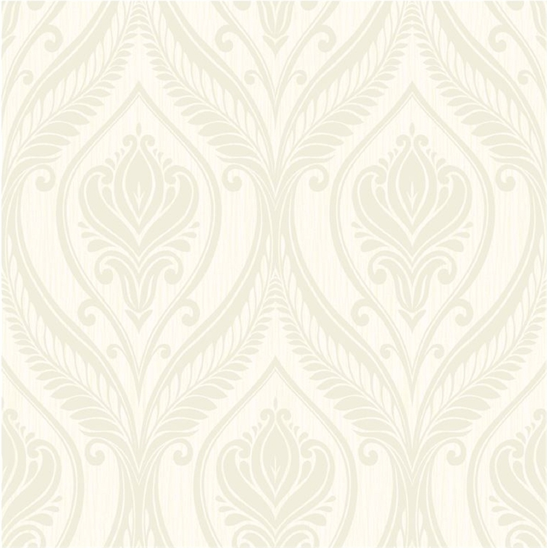 Grandeco Ideco Home Tiffany Wallpaper 126402 Cream