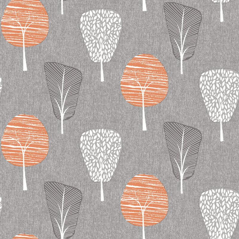 Arthouse Opera Retro Tree Wallpaper 902400 Greyorange